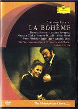 DVD PUCCINI LA BOHEME Luciano Pavarotti Renata Scotto Ingvar Wixell JAMES LEVINE