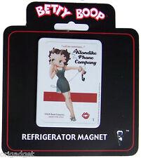Magnetic Magnet Betty Boop Telephone Company steel fridge magnet bm2