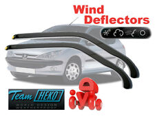 Peugeot 206  1998 - 2006  3.doors Wind deflectors  2.pc  HEKO   26115