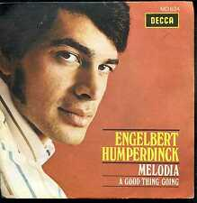 7inch ENGELBERT HUMPERDINCK melodia SPAIN +PS