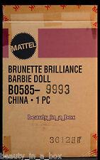 Brunette Brilliance Barbie Doll SHIPPER Mackie Designer Red Carpet Series NRFB