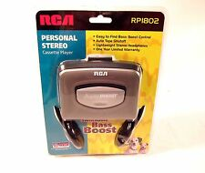 NEW Opened RCA RP1802 Walkman Stereo Cassette Tape Player Sealed Bass Boost