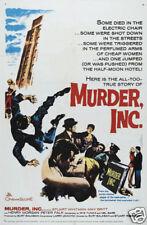 Murder Inc. Mafia gangster vintage movie poster