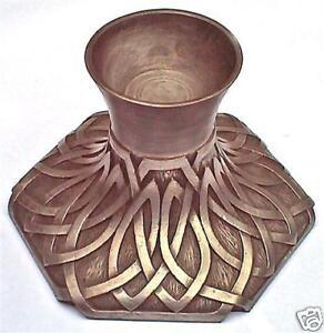 candle TEALIGHT HOLDER CELTIC DESIGN metal ORNAMENT