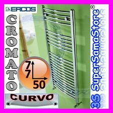 3S SCALDASALVIETTE CROMATO CURVO TERMOARREDO 77 x 50 cm TEKNO ERCOS CURVATO NEW