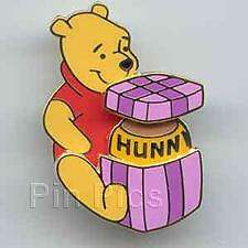 Disney Wdw A Gift for Winnie The Pooh Bear Slider Pin