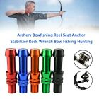 Archery Bowfishing Reel Seat Anchor Stabilizer Rods Wrench Bow Fishing HuntingYU