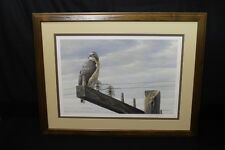 AT THE ROADSIDE Red-Tailed Hawk Print SIGNED Robert Bateman #658/950 Limited Ed.