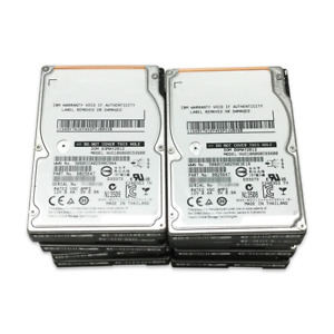 Lot of 10x Tested 600GB IBM Original 10k DL380 G7 SAS SFF No Bracket