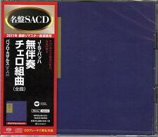 PABLO CASALS-BACH: CELLO SUITES (ALL 6 TRACKS)-JAPAN 2 SACD Hybrid K25