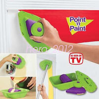 Point Paint Pad Painting Roller Tray Sponge Set Brush Home DIY Wall Decor Tool