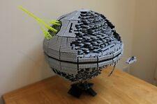 CUSTOM Lego Star Wars Death Star 2 3449 Pieces 10143 + Plaque Sticker