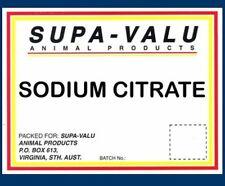 Sodium Citrate~ 1kg ~ Animal Product