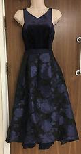 Coast Audrena Velvet High Low Dress Sizes UK 6, UK 18 RRP £195