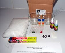 Customised Glass Painting & Candle Making Kit:Wax,Wick,Scent,dye,Outliner,Paint