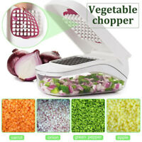 Kitchen Vegetable Chopper Fruit Cutter Tool Manual Onion Slicer Preparation Tool