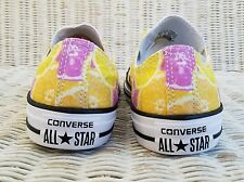 New CONVERSE CHUCK TAYLOR ALL STAR SNEAKERS Wo's Size 6 CITRUS Limited Edition