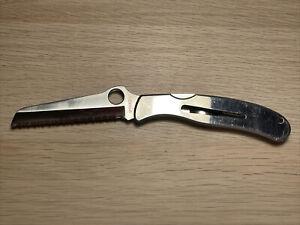 Spyderco 1002R CLIPIT™ Mariner Stainless Steel Knife w/Drying Vent Seki-Japan