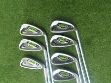 AWESOME PING GOLF CLUBS  RAPTURE IRON SET  5-GW   with STEEL STIFF FLEX SHAFTS