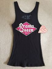 NWT DAVID & GOLIATH DRAMA QUEEN VEST TOP - SIZE XL