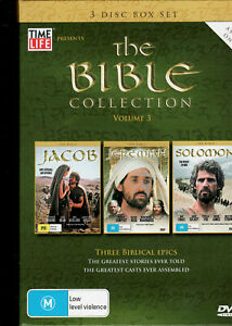 THE BIBLE COLLECTION - Volume 3 - DVD Region 4 (3 Disc Box Set)