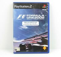 Formula One 2002 PS2 PlayStation 2 Game Complete PAL