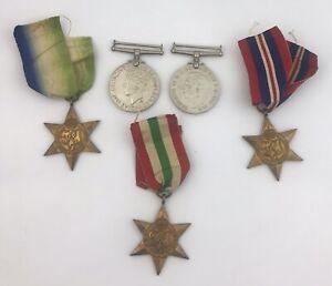 5 WW2 Medals. No Reserve