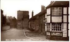 Much Wenlock. Bull Ring. Rowntrees Pastilles & Lyons Tea.