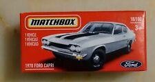 MATCHBOX 2021 POWER GRABS 1970 FORD CAPRI NEW MODEL 18/100 MINT IN BOX