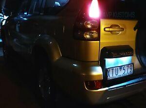 Toyota Prado 120 T10 White LED Number Plate Lights Bulbs Land Cruiser Hilux