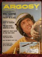 ARGOSY January 1962 Brett Halliday Gliders Loch Ness Robert Edmond Alter