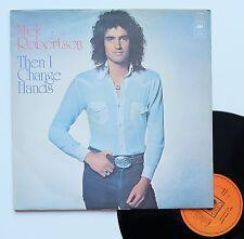 """Vinyle 33T Mick Robertson  """"Then I change hands"""""""