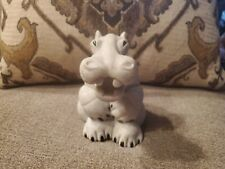 Second Nature Design Quarry Critters Harry Hippo - Large 6 Inch Version