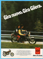 MOTOSPRINT982-PUBBLICITA'/ADVERTISING-1982- GILERA TG3 CUSTOM