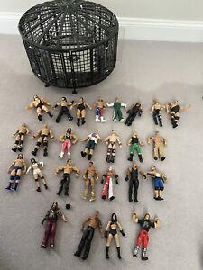 WWE Elimination Chamber Ring &Figure Bundle