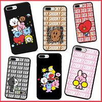 Soft TPU BTS K-POP BT21 Phone Case Cover For iPhone 7 8 Plus X XS XR 11 PRO MAX