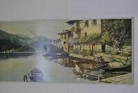 Landschaftsbild Öl auf Leinwand