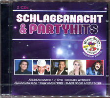 SCHLAGERNACHT & PARTYHITS - 2 CD COMPILATION NEW AND SEALED