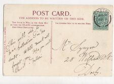 Mr Synyer Wilfred Street Derby 1904  787a