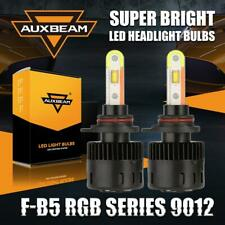 AUXBEAM 9012 56W 5600LM DRL 2-in-1 LED Headlight Kit+RGB Color Bluetooth Control