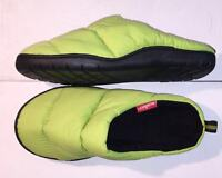 Summit Camping Unisex Slippers Large Water Resistant Thermal Fleece Warm Green