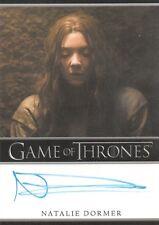 Game of Thrones Season 6, Natalie Dormer 'Margaery Tyrell' Auto Card