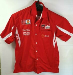 Casey Stoner Ducati Corse - Moto GP Shirt -Size XL Short Sleeve - Collared VGC