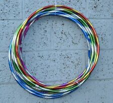 Multicolour Glitter Hula Hoop Fitness Exercise Game Workout Hoola hoops Activity