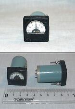 ANALOG PANEL MICRO AMPER METER  DC 100-0-100uA , USSR RARE , lot of 1 pcs