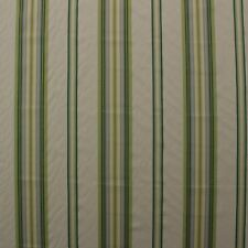 "WAVERLY LIBERTY STRIPE SORREL GREEN YELLOW STRIPE WOVEN FABRIC BY YARD 56""W"