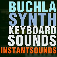 BUCHLA SYNTH SOUNDS Reason NNXT Kontakt Soundfont sf2 Wav Exs 24 Akai Samples