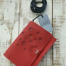 Gianni Chiarini Design GUM with Red Star PVC Shoulder Bag NEW - Made in ITALY