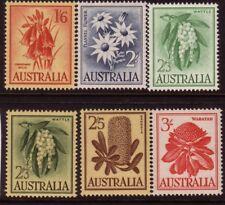 AUSTRALIA....  1959-60  flowers  set mnh