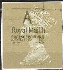 UK Queen Elizabeth II Large stamp 4.5 BP 2013 $8